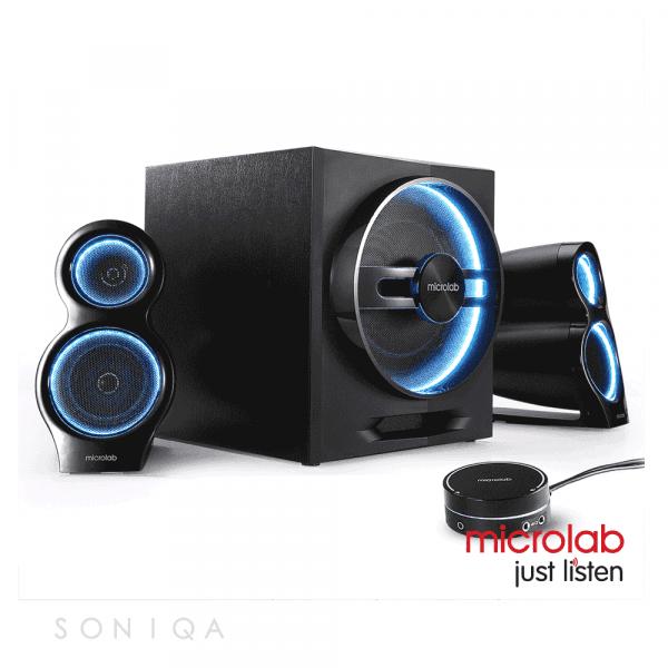 Aktywne głośniki - Microlab T10