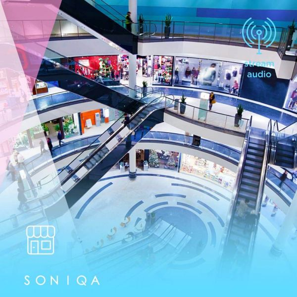 SONIQA Free Music do centrum handlowego