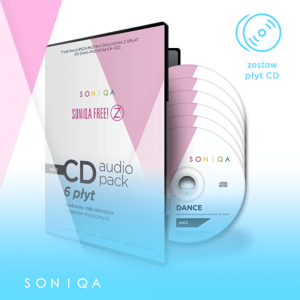 SONIQA Free Music na CD pack vol.2.