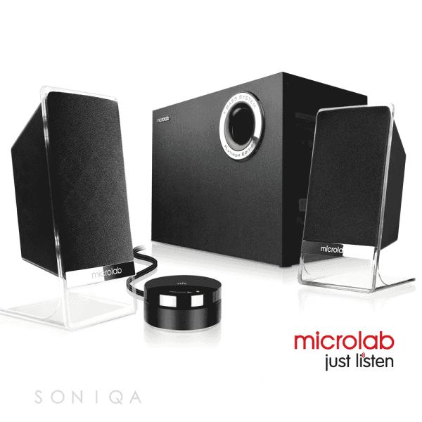 Aktywne głośniki - Microlab M 200 platinum