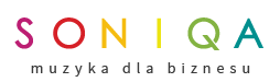 Logo SONIQA - full wersja